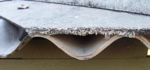 Asbestos - Do not disturb