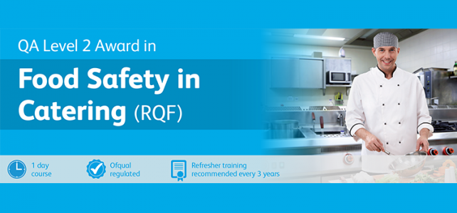 Food Safety in Catering – Level 2 award
