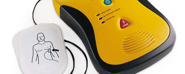 AED's to be included in First Aid Training